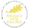 Médaille d'Or Paris salon de l'agriculture 2012
